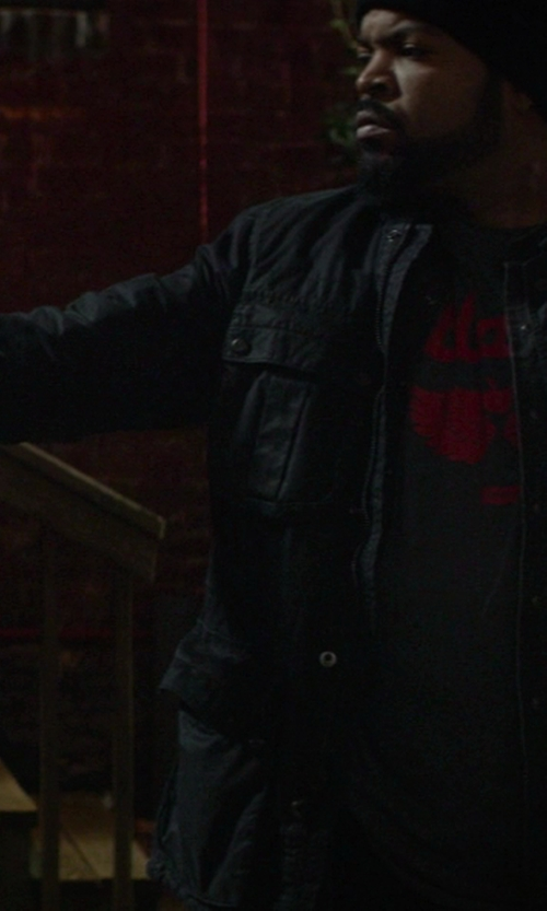 Ice Cube with Rag & Bone Delancey Field Jacket in Ride Along