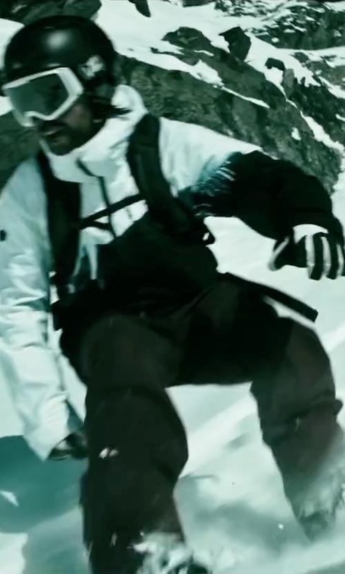 Clemens Schick with Von Zipper Trike Cylindrical Snow Goggles in Point Break