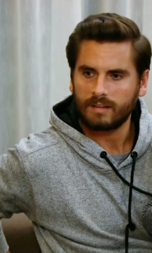 Scott Disick with Vince Drawstring Hoodie in Keeping Up With The Kardashians