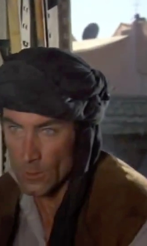 Timothy Dalton with James Perse Poplin Dress Shirt in The Living Daylights
