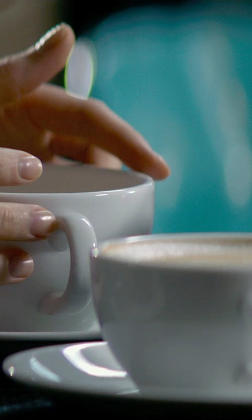 Dakota Johnson with Konitz Coffee Bar Cappuccino Cups and Saucers in Fifty Shades of Grey
