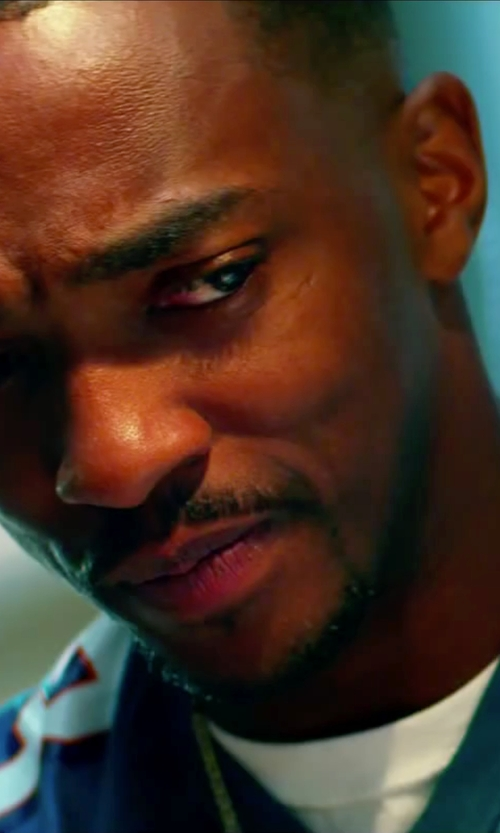 Anthony Mackie with Wings + Horns Base T-Shirt in Pain & Gain