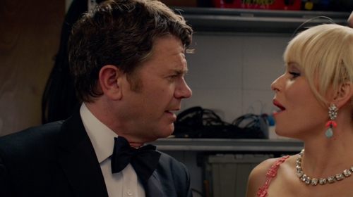 John Michael Higgins with Brooks Brothers Butterfly Pre-Tied Bow Tie in Pitch Perfect 2