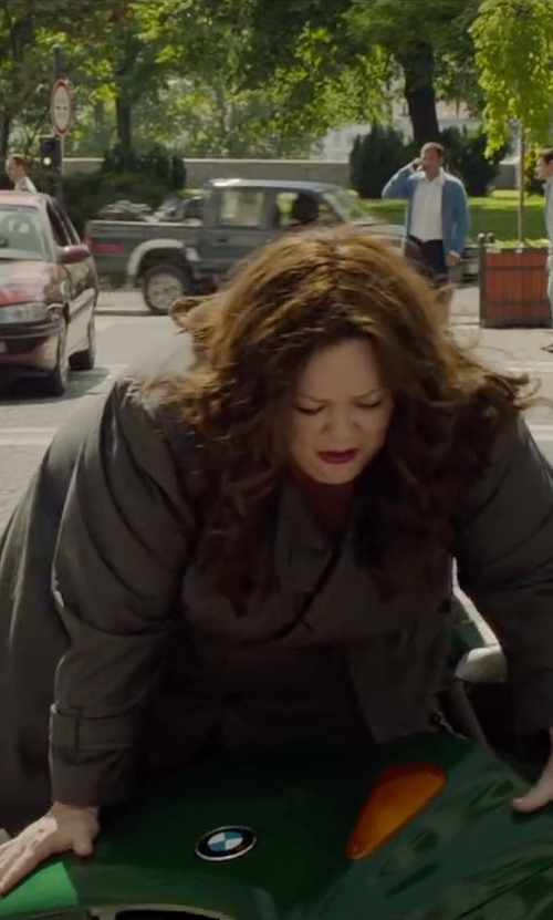 Melissa McCarthy with NYDJ Two-Way Stretch Ankle Straight Leg Pants in Spy