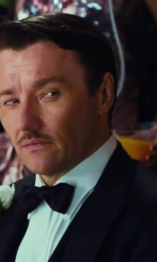 Joel Edgerton with Brooks Brothers Double-Breasted Tuxedo Jacket in The Great Gatsby