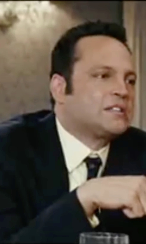 Vince Vaughn with Ann Demeulemeester Portnoy Two-Button Suit in Wedding Crashers