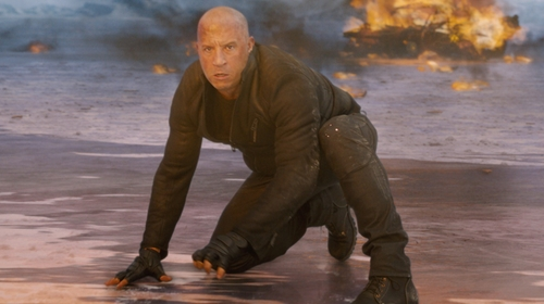 Vin Diesel with 5.11 Tactical Halcyon Patrol Boots in The Fate of the Furious