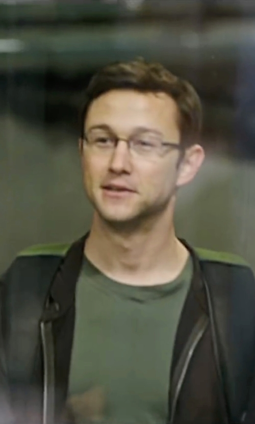 Joseph Gordon-Levitt with UGG 'Bownes' Zip Hoodie in Snowden