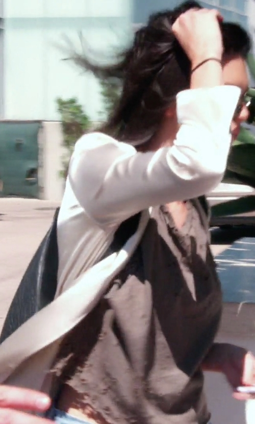 Kendall Jenner with Kendall + Kylie Koenji Leather Backpack in Keeping Up With The Kardashians