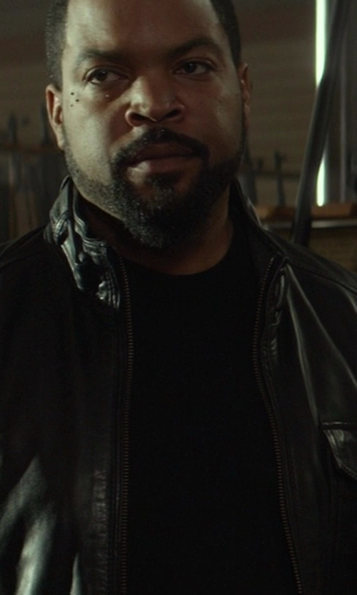 Ice Cube with Levi's Made & Crafted Leather Biker Jacket in Ride Along