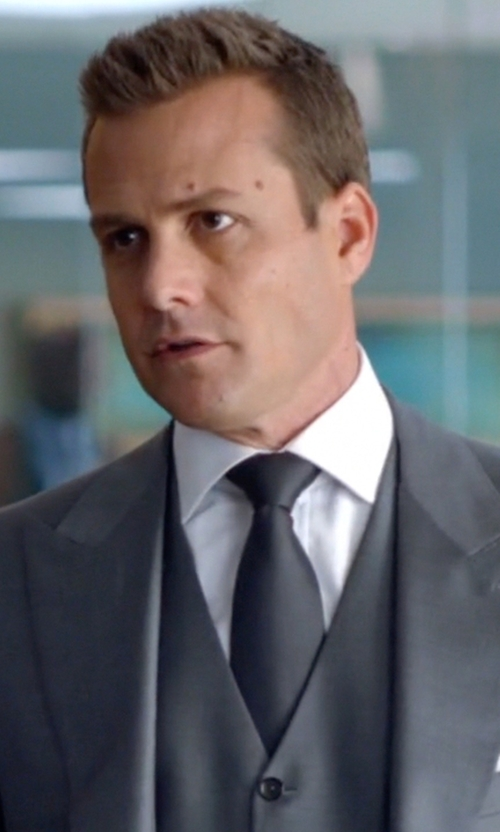 Gabriel Macht with Brioni Satin Tie in Suits