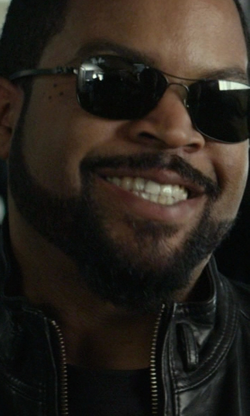 Ice Cube with Ray-Ban RB8301 Green Classic G-15 Sunglasses in Ride Along
