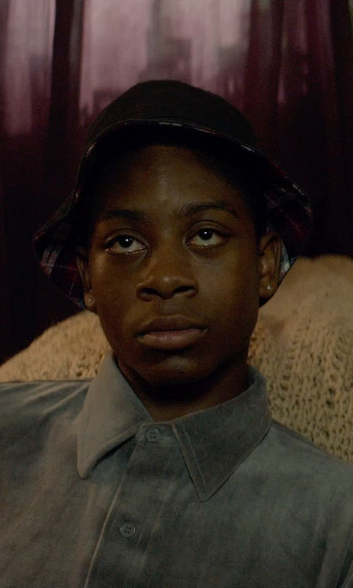 RJ Cyler with A. Kurtz 'Buckley' Reversible Bucket Hat in Me and Earl and the Dying Girl