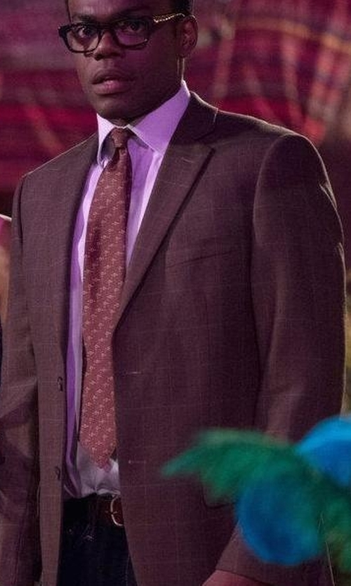 William Jackson Harper with Todd Snyder Sutton Unconstructed Sport Coat in The Good Place