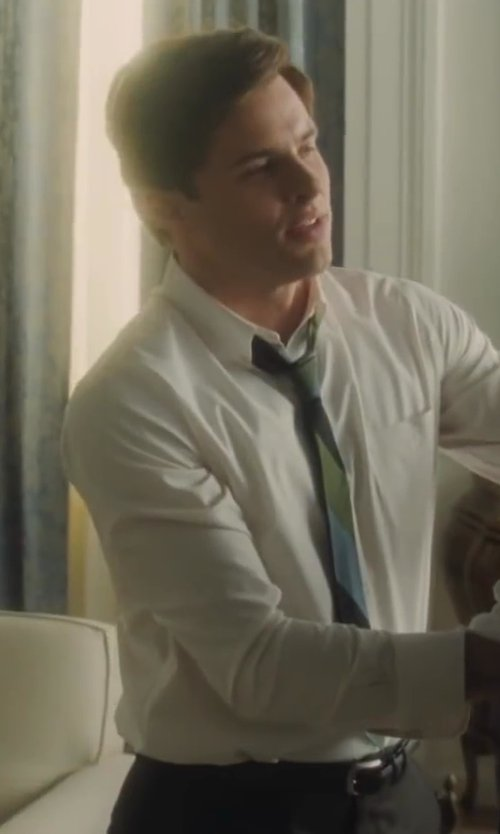 James Marsden with Barneys New York Border-Stitched Leather Belt in Lee Daniels' The Butler