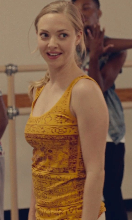Amanda Seyfried with Yizzam Womens Tank Top in While We're Young