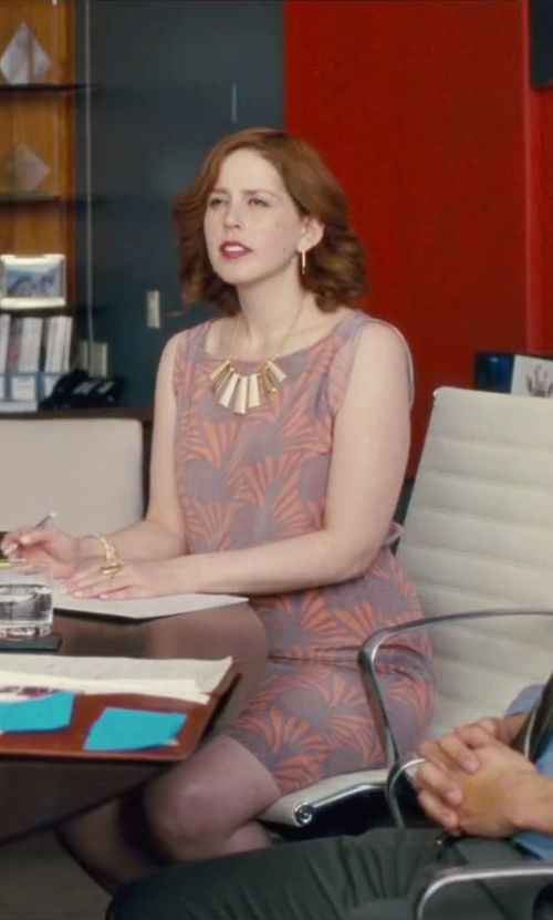 Vanessa Bayer with Alexis Bittar 'Lucite' Statement Necklace in Trainwreck