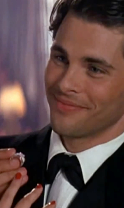 James Marsden with Givenchy   Light Wool Gabardine Suit in The Notebook