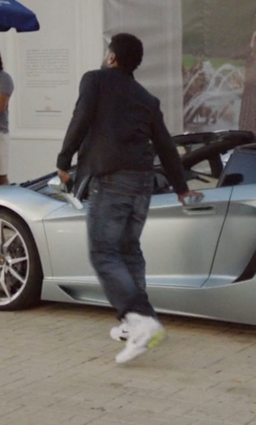 John David Washington with Nike Air Command Force Shoes in Ballers