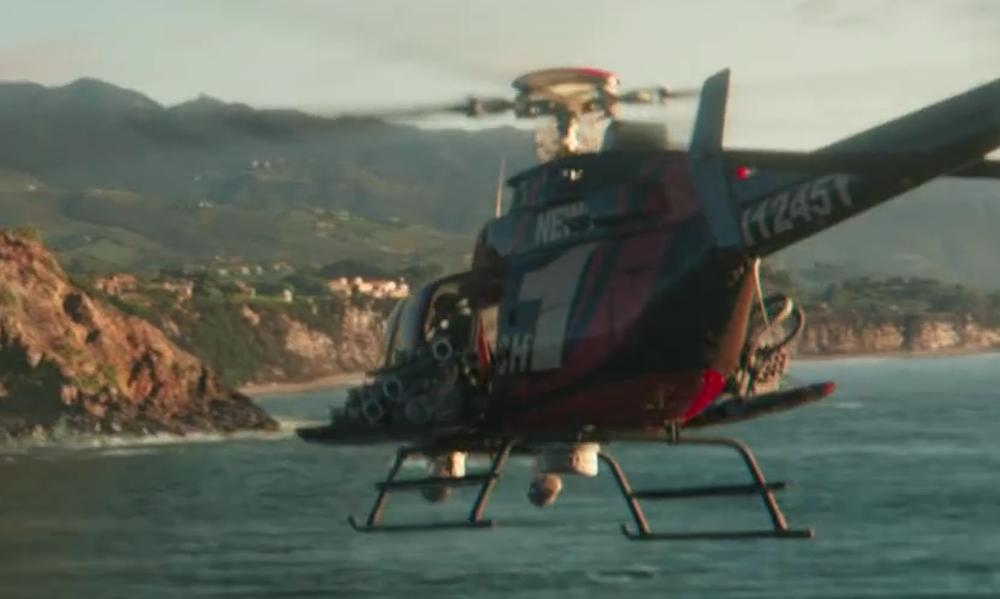 BELL 407 in Iron Man 3