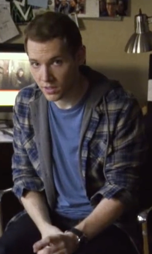 James Allen McCune with G-Star Landoh Shirt  in Blair Witch