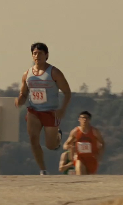 Carlos Pratts with Nike Tempo Split Running Shorts in McFarland, USA