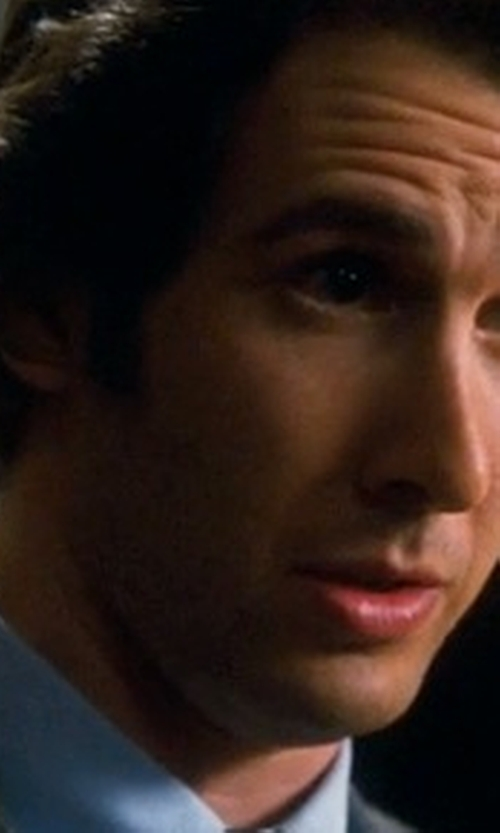 Josh Groban with Opening Ceremony Dorian Ergo Shirt in Crazy, Stupid, Love.