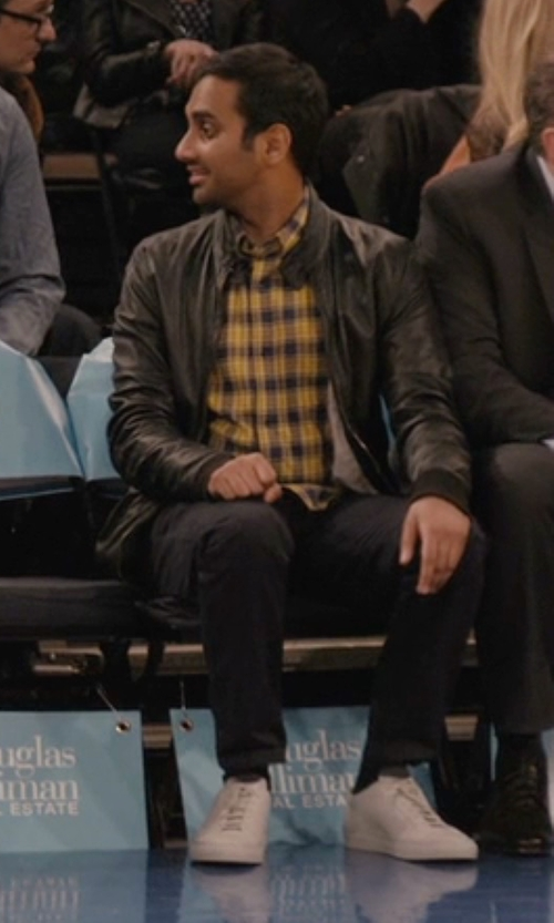 Aziz Ansari with Nike Air Force 1 '07 Basketball Shoes in Master of None