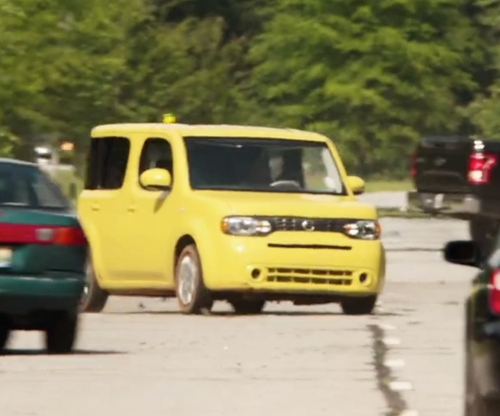 Justin Long with Nissan Cube Sedan in Alvin and the Chipmunks: The Road Chip