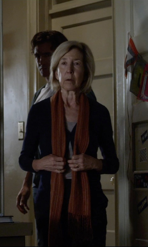 Lin Shaye with Blanca Monros Gomez Flat Band Ring in Insidious: Chapter 3