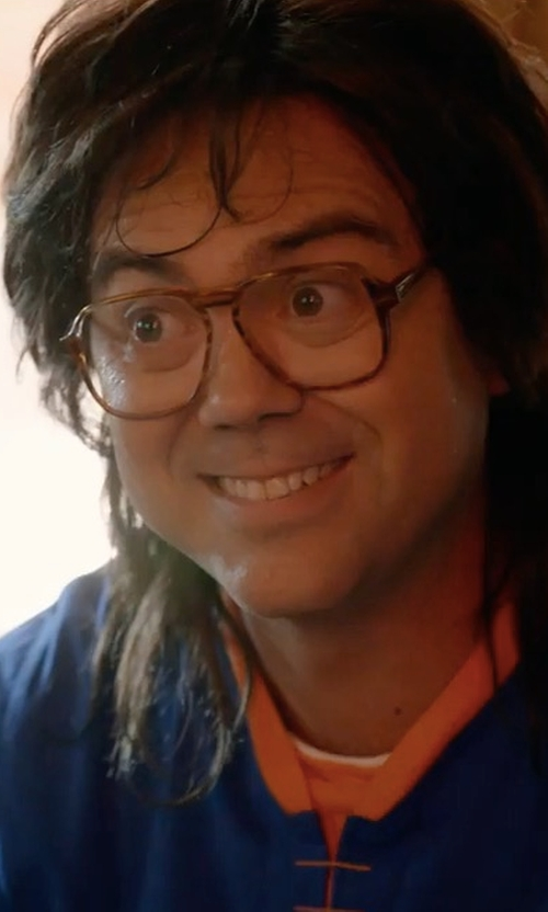 Joe Lo Truglio with Paul Smith Padfield Glasses in Wet Hot American Summer: Ten Years Later