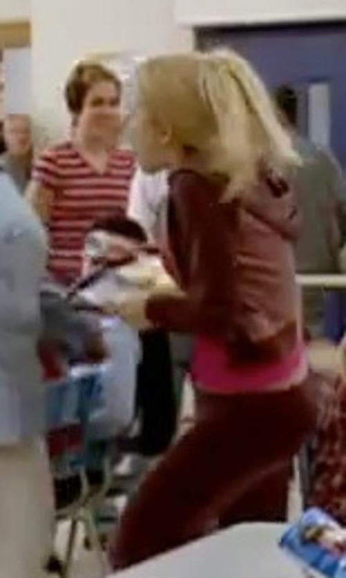 Rachel McAdams with Urban Classics Women's Spray Dye Sweatpant in Mean Girls