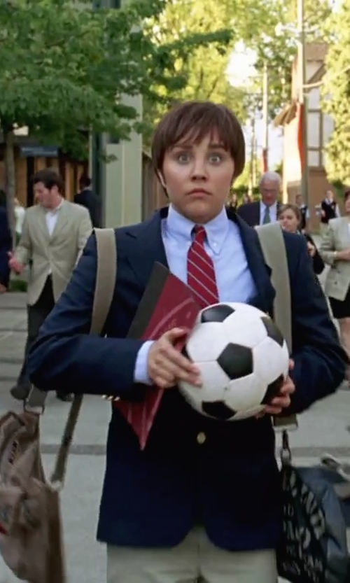 Amanda Bynes with Topman Canvas Satchel Messenger Bag in She's The Man