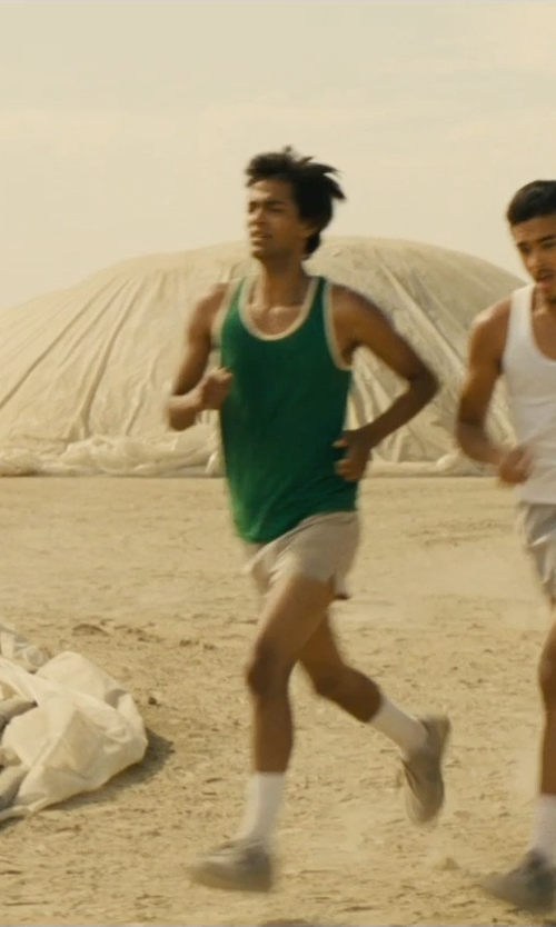 Michael Aguero with Uxcell Contrast Color Tank Top in McFarland, USA