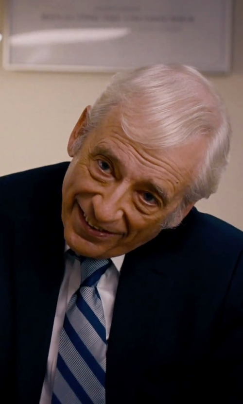 Austin Pendleton with Ted Baker London 'Jones' Trim Fit Stripe Wool Suit in She's Funny That Way