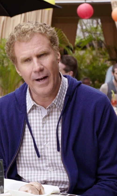 Will Ferrell with C9 by Champion Sport Fleece Full Zip Hoodie Jacket in Get Hard
