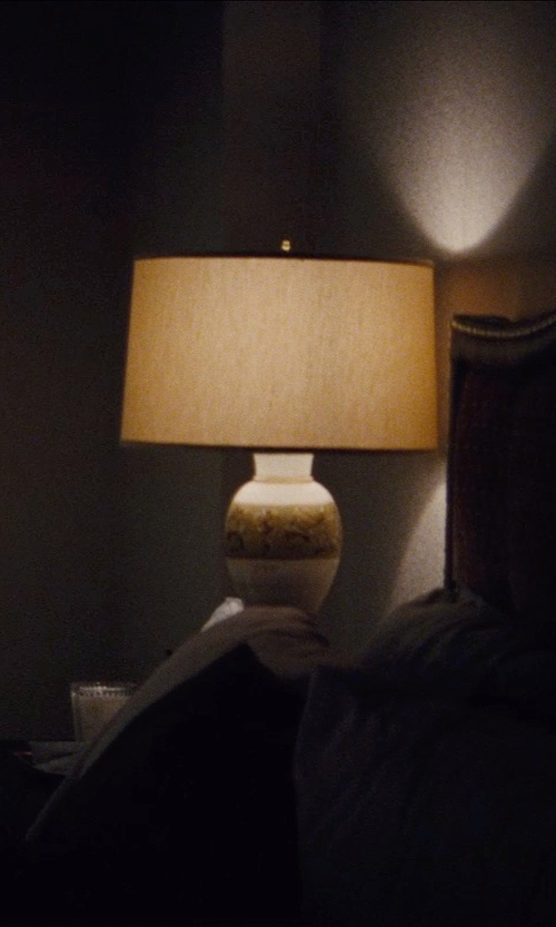 Ed Harris with Aerin Trieste Table Lamp in Run All Night