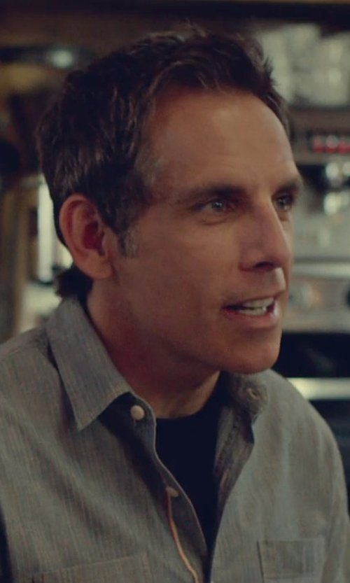 Ben Stiller with Fanmail Boxy T-Shirt in While We're Young