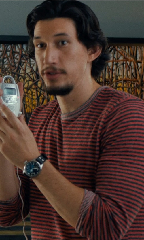Adam Driver with BEN SHERMAN T-shirt in This Is Where I Leave You