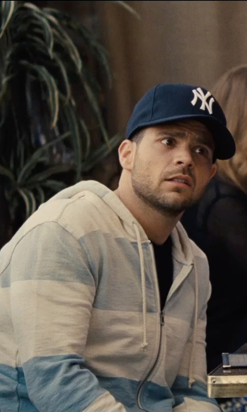 Jerry Ferrara with '47 Brand New York Yankees MVP Curved Cap in Entourage