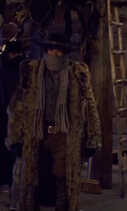 Demian Bichir with Brioni Polished Belt in The Hateful Eight