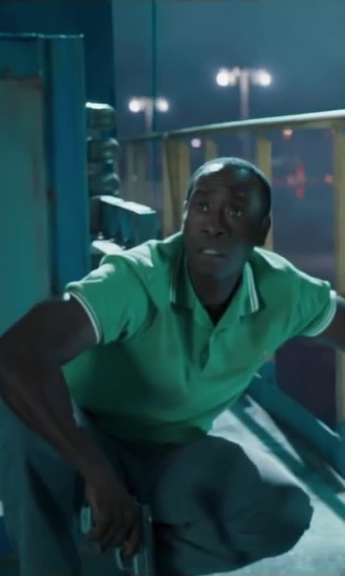 Don Cheadle with INCOTEX classic chino in Iron Man 3