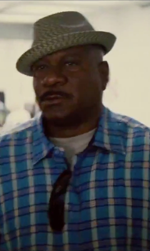 Ving Rhames with Ray-Ban Wayfarer Sunglasses in Mission: Impossible - Rogue Nation
