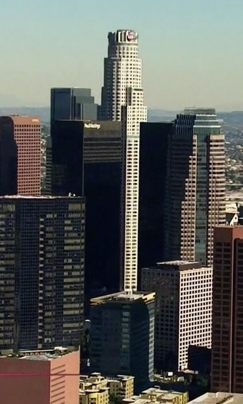 Unknown Actor with U.S. Bank Tower Los Angeles, California in Keeping Up With The Kardashians