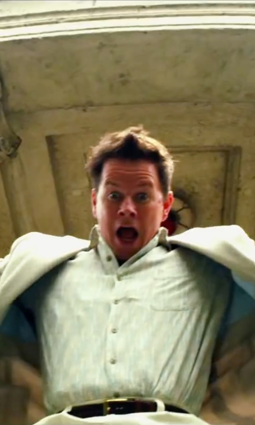 Mark Wahlberg with Salvatore Ferragamo Two Piece Suit in Pain & Gain