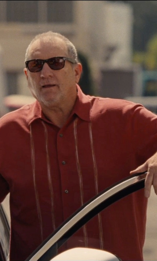 Ed O'Neill with Cubavera Men's Essential Short Sleeve Shirt in Entourage