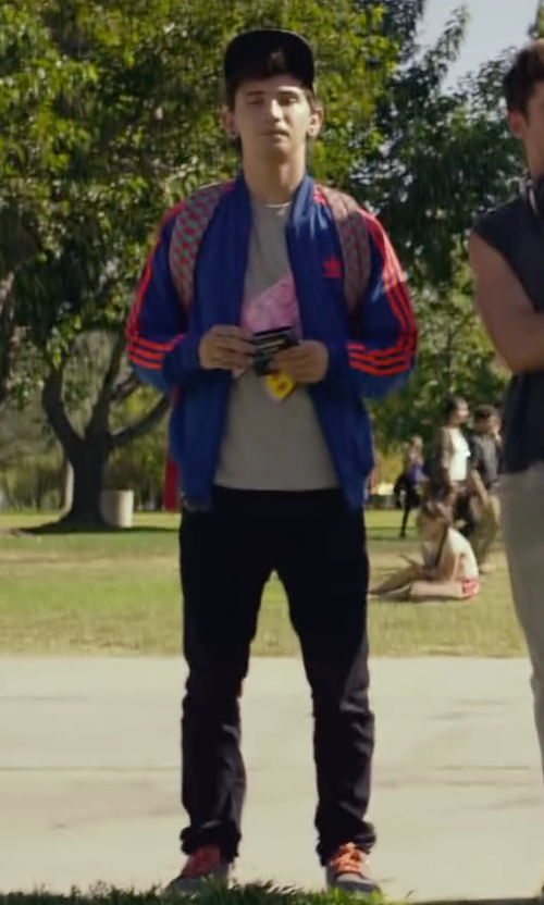 Alex Shaffer with Vince Austin Sport Suede Sneakers in We Are Your Friends
