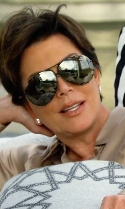Kris Jenner with Porsche Design 8478 D Sunglasses in Keeping Up With The Kardashians