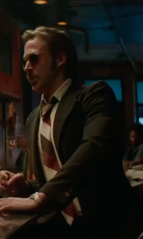Ryan Gosling with Tonello Two Piece Suit in The Nice Guys