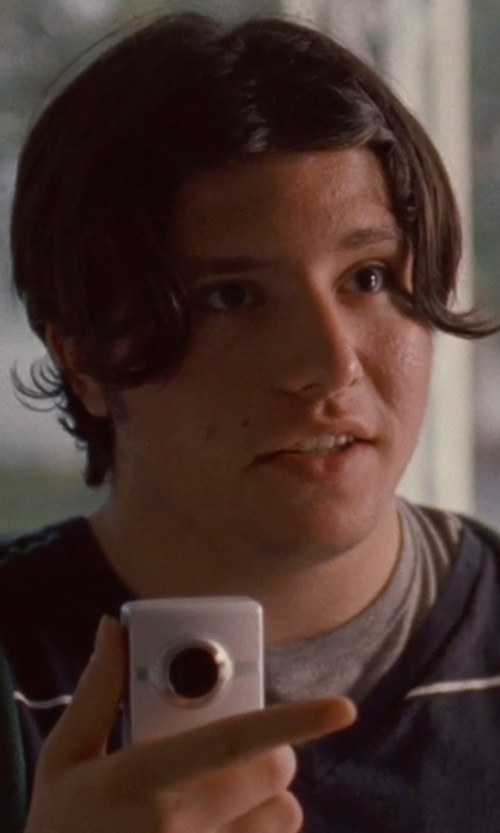 Matthew Russell with Flip Video 2nd Generation Video Camera in Silver Linings Playbook